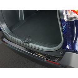 Ochranná nerezová lišta prahu piatych dverí (čierna) Toyota RAV 4 V 2018 -