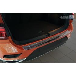 Ochranná nerezová lišta prahu piatych dverí (čierna) VW T-Roc 2017 -