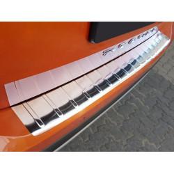 Ochranná nerezová lišta prahu piatych dverí VW T-Cross 2018 -