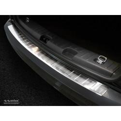 Ochranná nerezová lišta prahu piatych dverí VW Caddy 2003 -