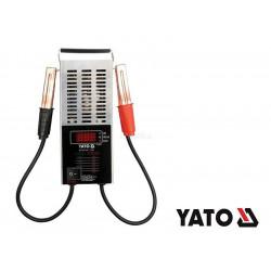 YATO Digitálny záťažový tester akumulátora