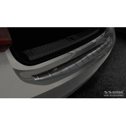 Ochranná nerezová lišta prahu piatych dverí (čierna) Audi A7 C8 Sportback 2017 -