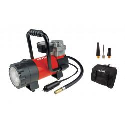 Vzduchový kompresor do auta 12V LED + taška (100 PSI)