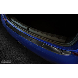 Ochranná nerezová lišta prahu piatych dverí (čierna) BMW 3 G20 Sedan 2018 -