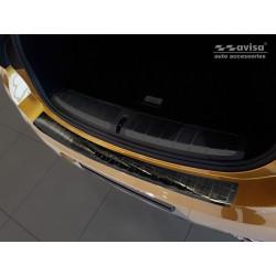 Ochranná nerezová lišta prahu piatych dverí (čierna) BMW X2 F49 (M-Pakiet) 2018 -