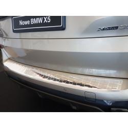Ochranná nerezová lišta prahu piatych dverí BMW X5 G05 M-Pakiet 2018 -