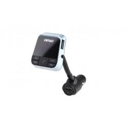 FM transmitter s funkciou nabíjania 2,4 A