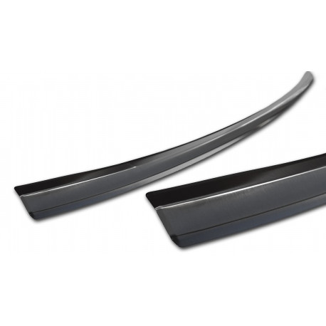 Ochranná nerezová lišta prahu piatych dverí (čierna) Mitsubishi Eclipse cross 2017 -