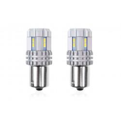 Led žiarovka P21 UltraBright 3020 22SMD (R5W, R10W) CANBUS 12V/24V Biela