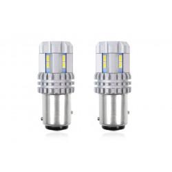 Led žiarovka P21/5W UltraBright 3020 22SMD CANBUS 12V/24V Biela