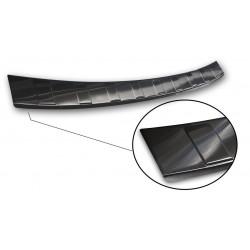 Ochranná nerezová lišta prahu piatych dverí (čierna) Volvo V60 II 2018 -