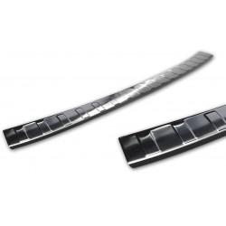 Ochranná nerezová lišta prahu piatych dverí (čierna) VW Polo VI 2017 -