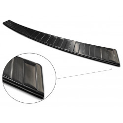 Ochranná nerezová lišta prahu piatych dverí (čierna) VW Transporter T6 2015 -