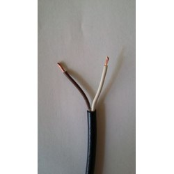 El. kabel 2x1,5mm, gum. plášť dvojlinka