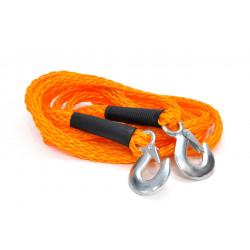 Ťažné lano 3t s hákmi - 4m