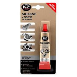 K2 silikónový tesniaci tmel červený 350°C - 21g