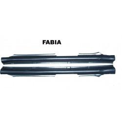 Plastové prahy Škoda Fabia